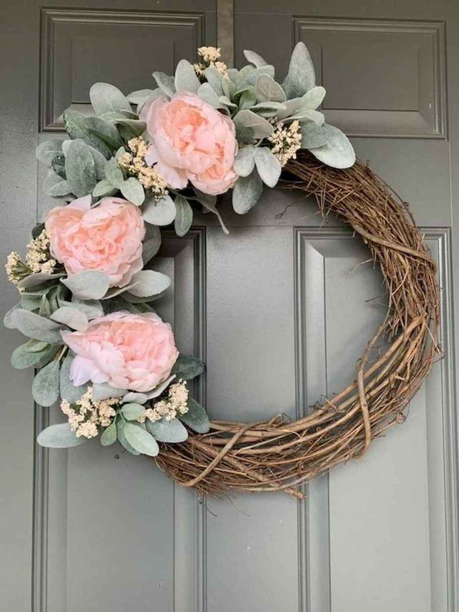 60 Lovely Summer Wreath Design Ideas and Remodel (13)