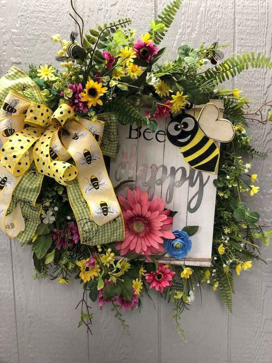 60 Lovely Summer Wreath Design Ideas and Remodel (35)