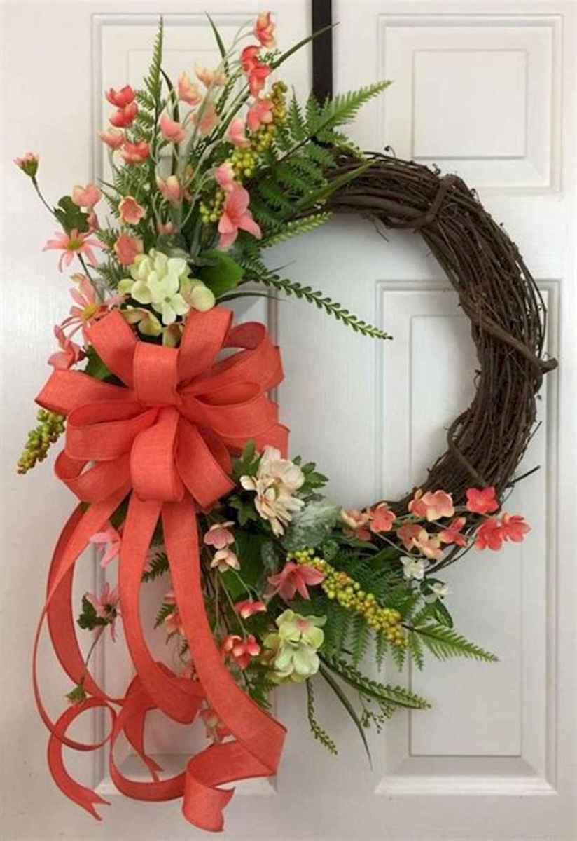 60 Lovely Summer Wreath Design Ideas and Remodel (4)