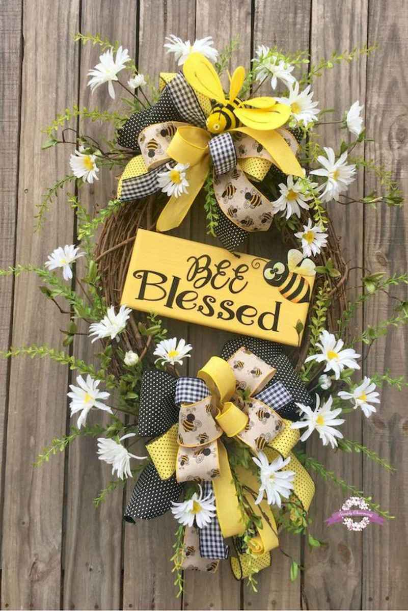 60 Lovely Summer Wreath Design Ideas and Remodel (46)