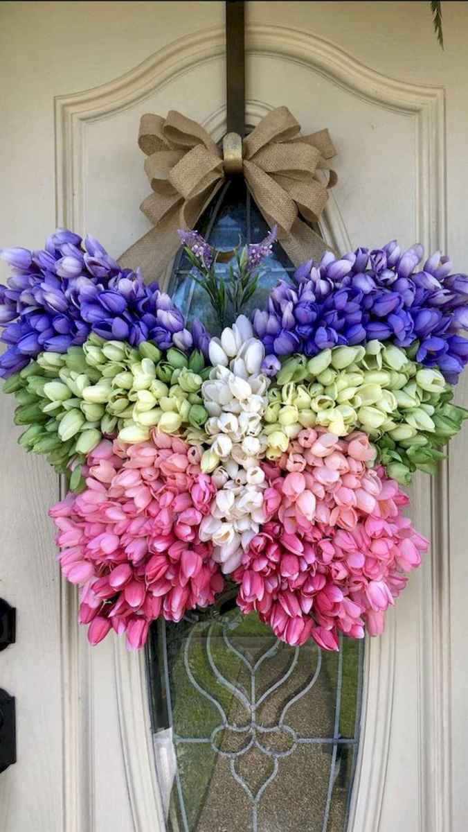 60 Lovely Summer Wreath Design Ideas and Remodel (47)