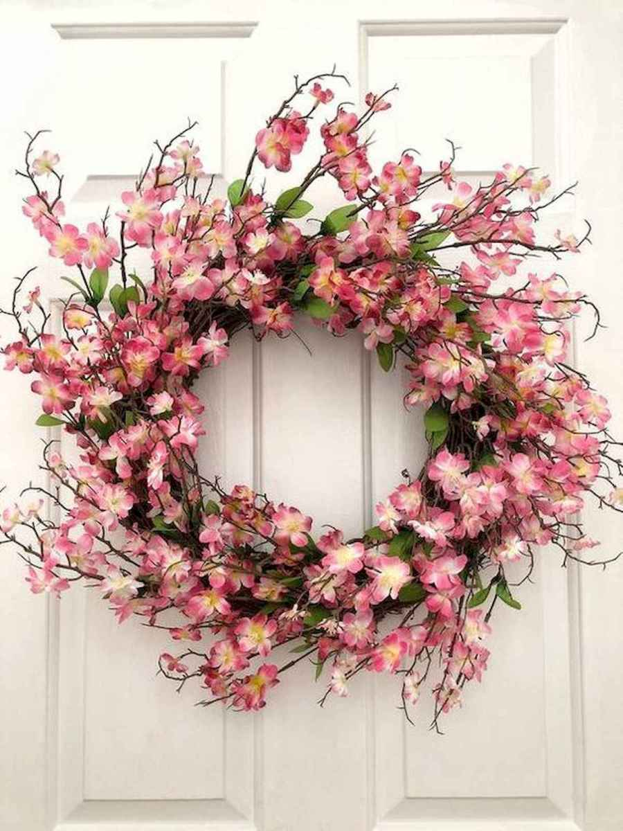 60 Lovely Summer Wreath Design Ideas and Remodel (55)