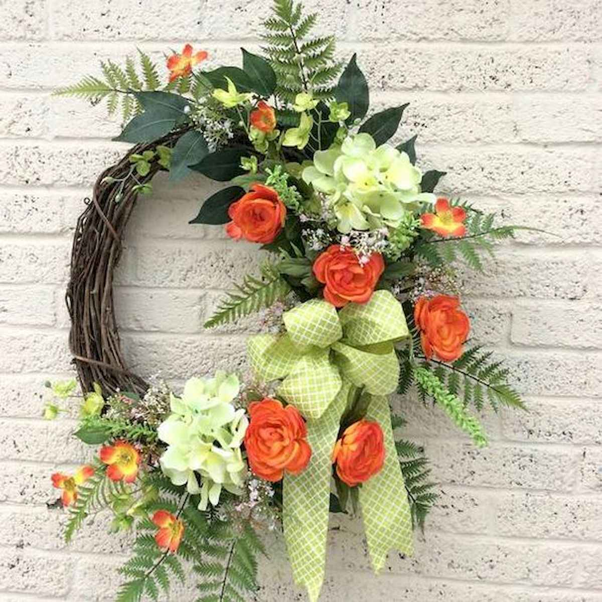 60 Lovely Summer Wreath Design Ideas and Remodel (60)