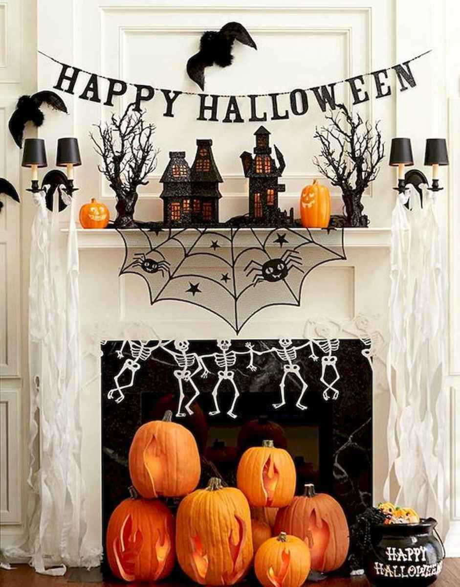 90 Awesome DIY Halloween Decorations Ideas (23)