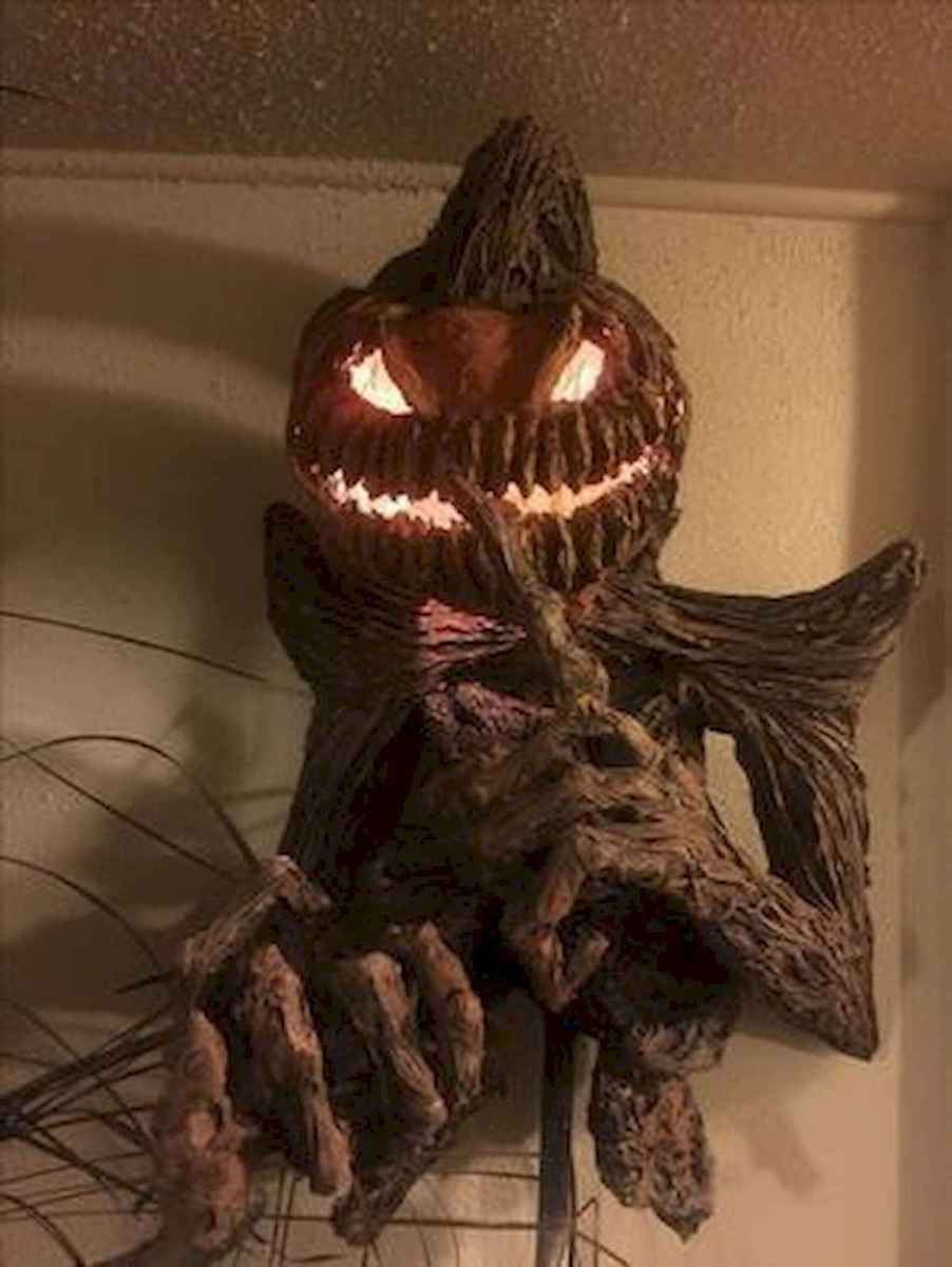 90 Awesome DIY Halloween Decorations Ideas (76)