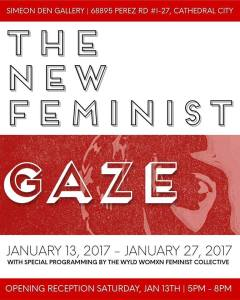 The New Feminist Gaze @ Simeon Den Gallery