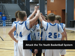 Attack the Tin Youth Basketball System