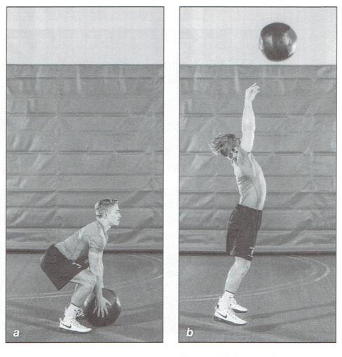 Lacrosse Med Ball Throw 2
