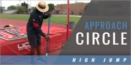 High Jump: Approach Circle