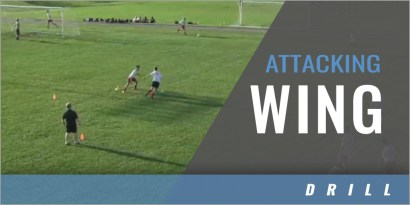 Offense: 1v1 Attacking Wing Drill