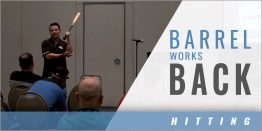 Hitting: Barrel Works Back and Elbow Is in the Slot