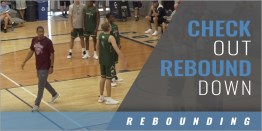 Defensive Rebounding: Check Out and Rebound Down