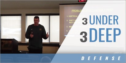 Zone Blitz Coverages: Problems with 3 Under, 3 Deep with Joe Klanderman - North Dakota State Univ.