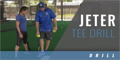 Hitting: Jeter Tee Drill