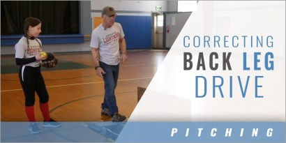 Pitching: Correcting Back Leg Drive