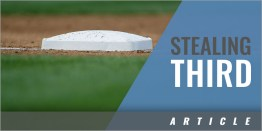 The Art of Stealing 3rd Base