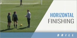 Two Player Horizontal Finishing Drill