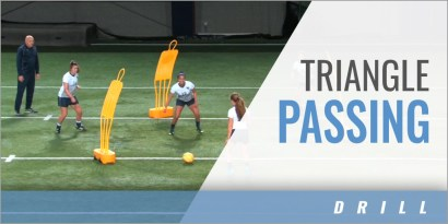 Triangle Passing Drill #4