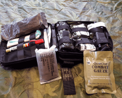 the Combat Casualty Response Kit