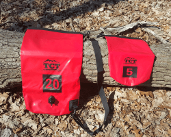 Review of the camping trail dry bags