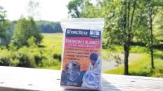Review Of The Emergency Mylar Blanket By The Atomic Bear