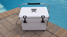 patriot ice cooler review