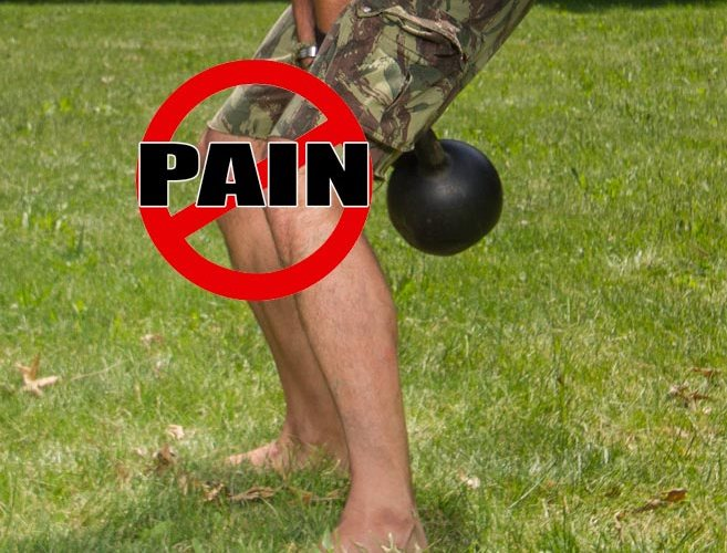 Avoid Knee Pain When Kettlebell Training With This Tip
