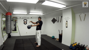 kettlebell over under swing