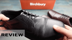 Birchbury Men's Brenston Wide Toe-Box Leather Minimalist Shoe Review
