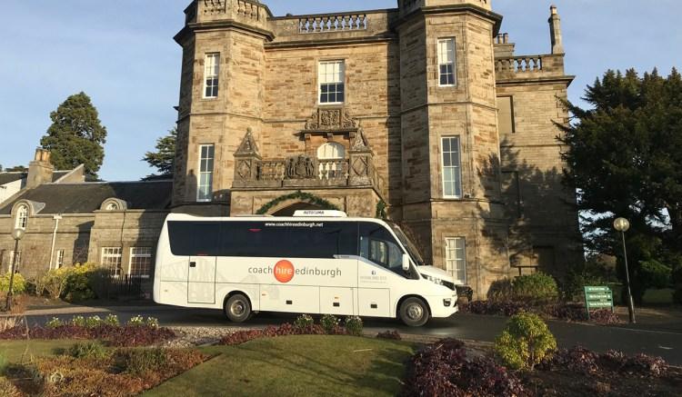 Wedding Bus Hire - Coach Hire Edinburgh
