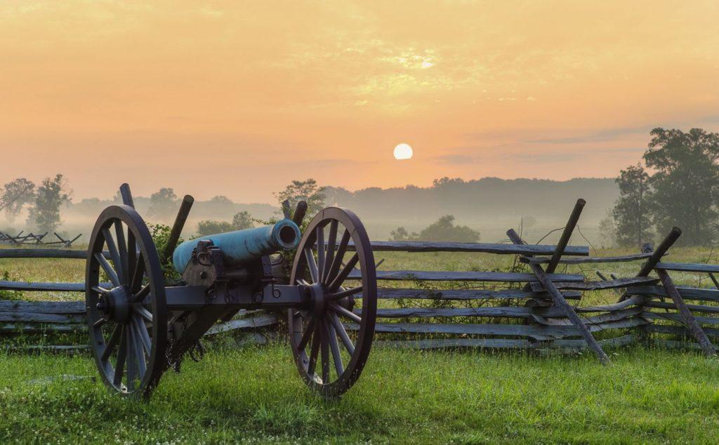 Gettysburg PA Sunset