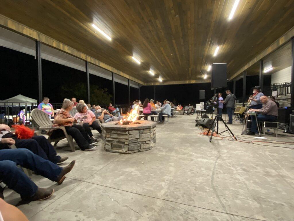 Clabough Campground Outdoor Pavillion