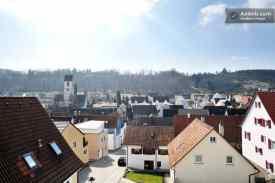Blick über die Dächer von Aidlingen
