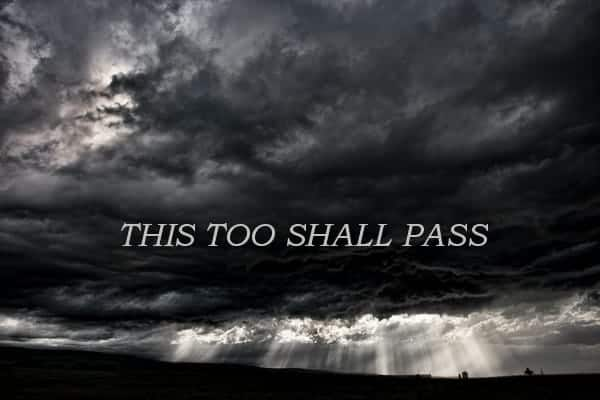 Coaching story: This too shall pass