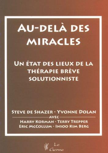 Au-delà des miracles