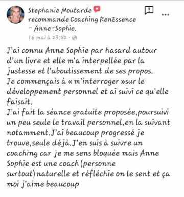 Témoignage Stéphanie
