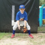 Youth Baseball – Ready Position for T ball