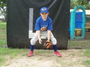 ready position t ball | grayson mcclure