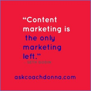 content marketing Seth Godin