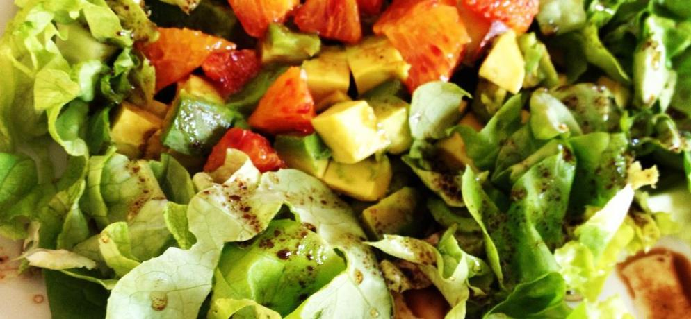 salade orange avocat