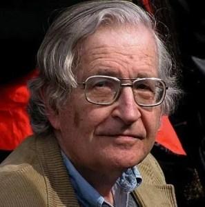 Photo of Noam Chomsky