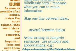 Learning Tip: The Cornell Note Taking Method