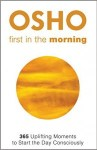Afbeelding cover Osho boek First in the morning