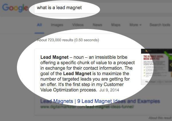 lead magnet definition