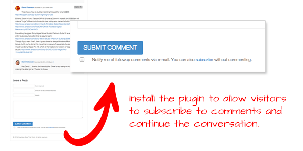 A Plugin to Encourage Conversation on Your Blog
