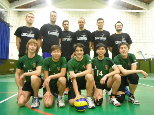Exeter University Volleyball Club Men's 2012-13 Squad