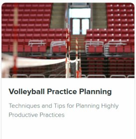 Volleyball Coaching Courses - Practice Planning