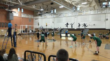 NKHS vs Hendricken boys volleyball