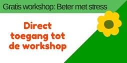 aanmelding gratis workshop: Beter met stress bij Coaching Vitaal
