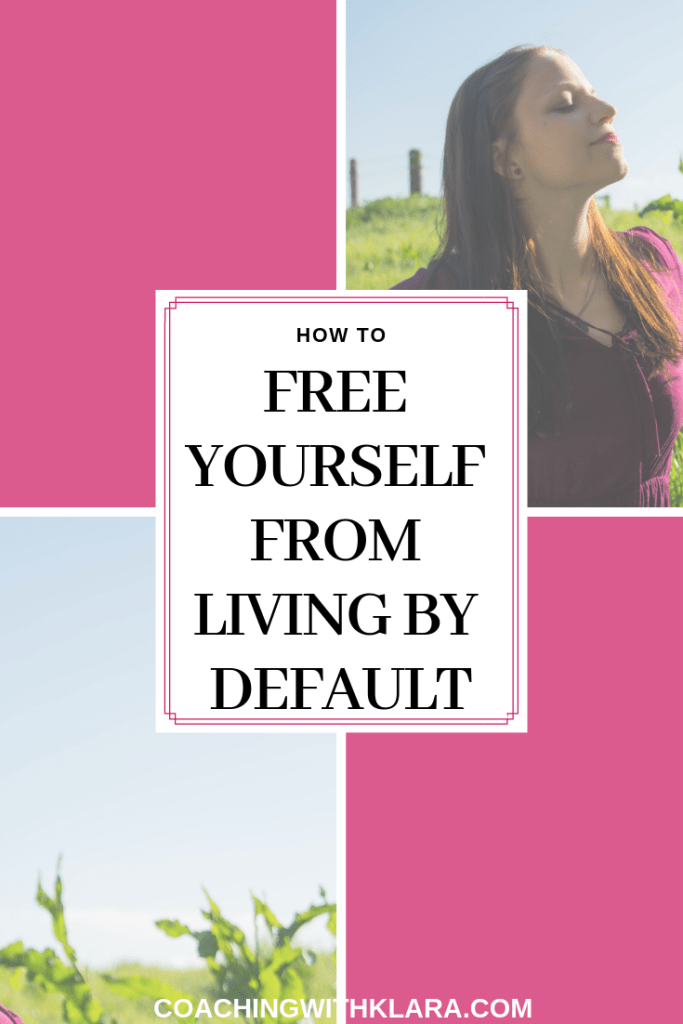 How to start living by your design not by default? I'm talking about the impact of default mode on our life, our mental health, relationships and our overall happiness. Most people live their lives on autopilot. Tips on how you can start live purposefully and live your dream life. #entrepreneurship #healing #habits #selfdevelopment #selfimprovement #womeninbusiness #personaldevelopment #mindsethacks